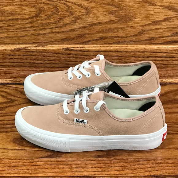 9a846bd5393b Vans Authentic PRO Mahogany Rose White Shoes